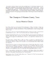 The Champion of Karnes County, Texas