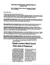 CHOATES OF THE SOUTH -- NEWSLETTER #20 March 1998 by Irene Choate Williams